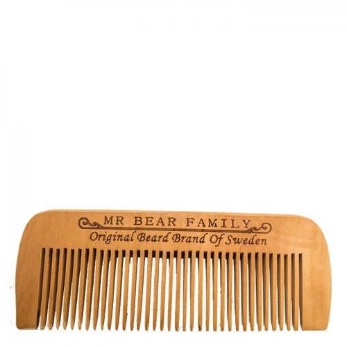 Mr Bear Family. Wooden Comb