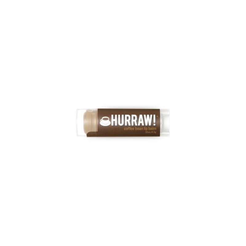 Hurraw! Coffee Bean lip balm