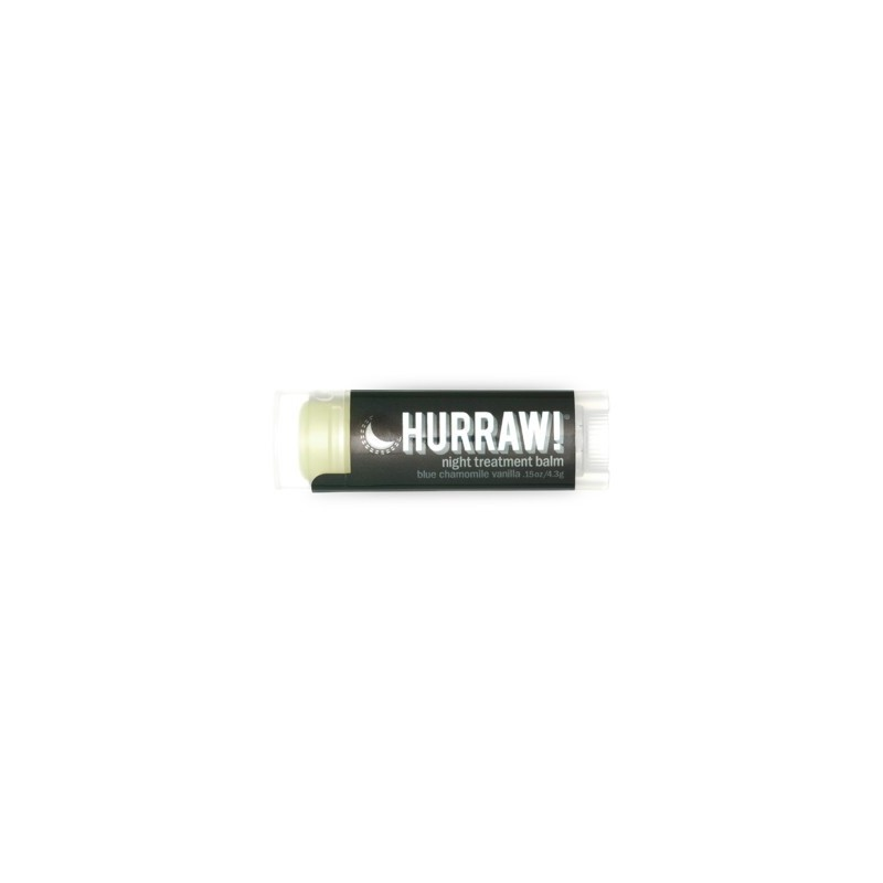 Hurraw! Night Treatment lip balm