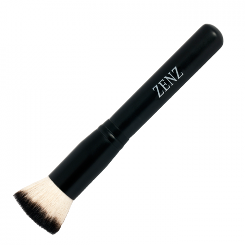 Zenz Flat Blush Goat Hair Brush